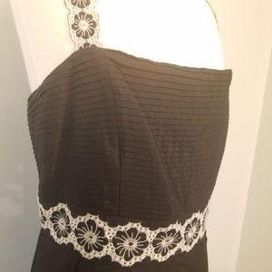 ANTONIO MELANI Dresses - Antonio Melani silk Eyelet Dress size 14